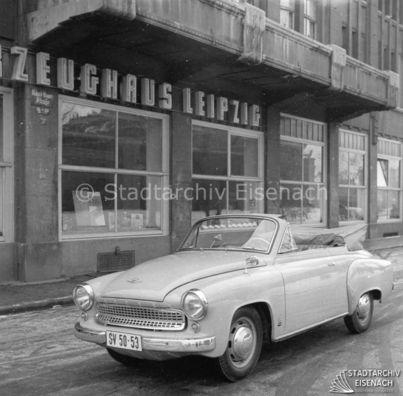 Bildergalerie 311 Wartburg Cabrio Werbefotos 1958 1959