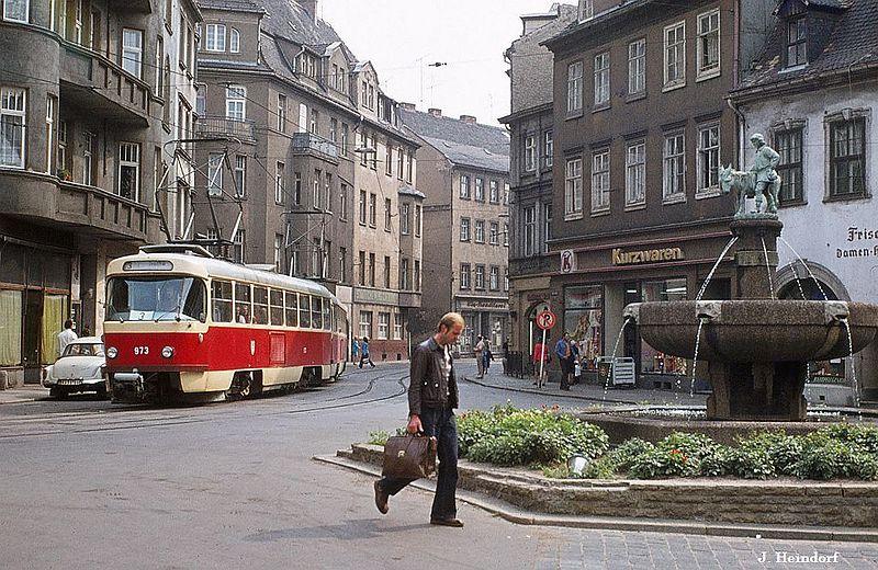 Alltags-Bilder aus der DDR - Halle und Merseburg (76 und